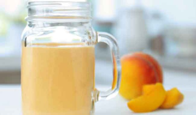 Peach and Mango Juice